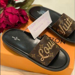 Louis Vuitton Sunbath mule sandals